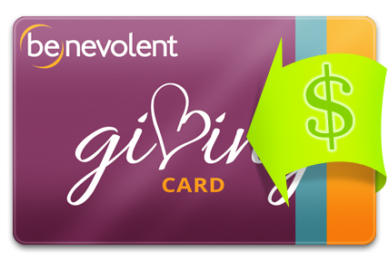 Recharge your Benevolent Card